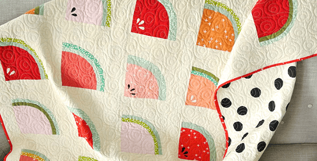 Sweet Watermelon Quilt is Perfect for Summer - Quilting Digest : watermelon quilt - Adamdwight.com