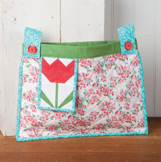 Tulip Tote for a Walker