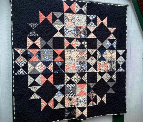 Multi-Faceted Quilt Pattern