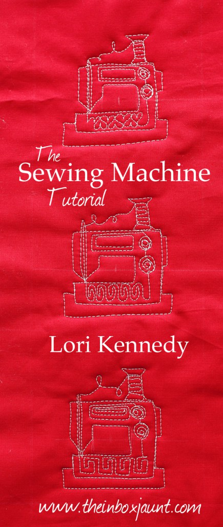 Sewing Maching Free Motion Quilting Motif