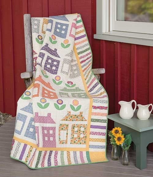 House and Garden Quilt