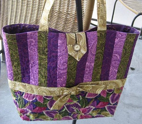 Mill House Inn Tote Bag Pattern