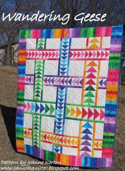 Wandering Geese Quilt