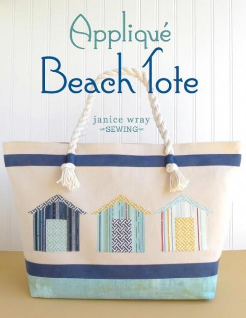 Applique Beach Tote