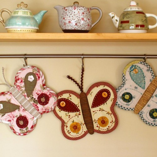 Butterfly Potholders