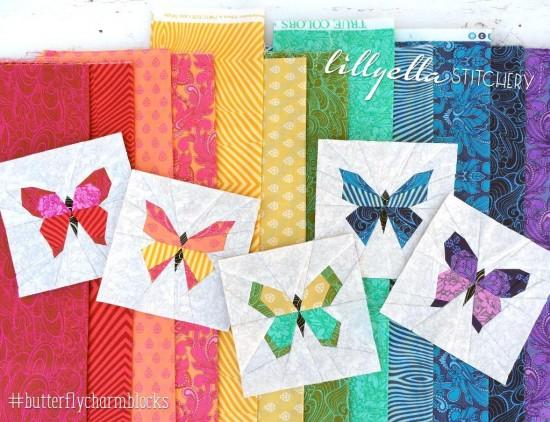 Butterfly Charm Blocks