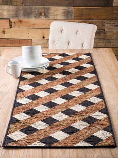 Over and Under Table Runner Pattern