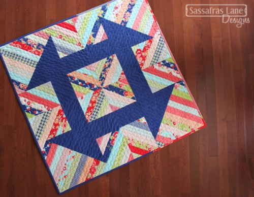 Churndash Court Quilt