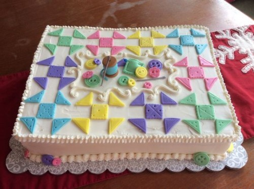 Quilt Themed Cake