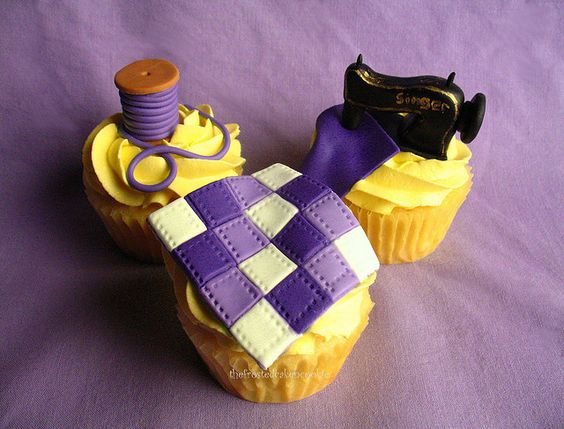Beautifully Artistic Cakes for Quilters - Quilting Digest : quilt cupcakes - Adamdwight.com