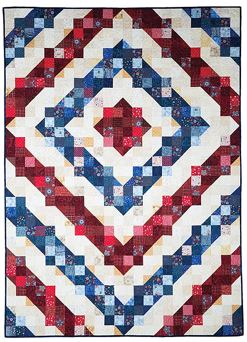 Rings of Freedom Quilt Pattern