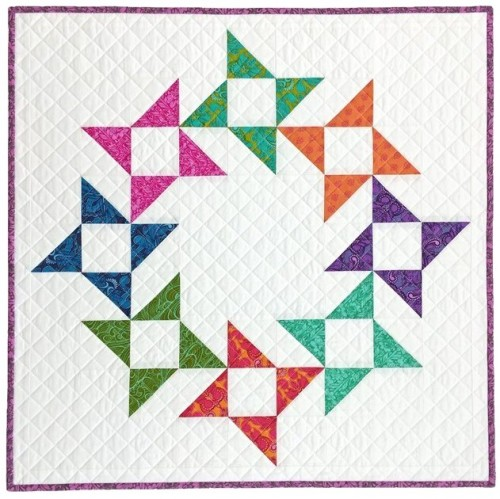 Friendship Wreath Mini Quilt
