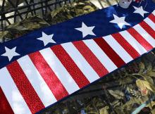 Patriotic Wave Table Runner