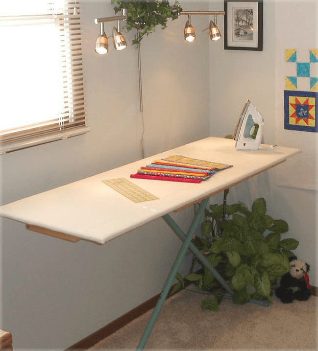 Convert Your Ironing Board For Quilting Quilting Digest