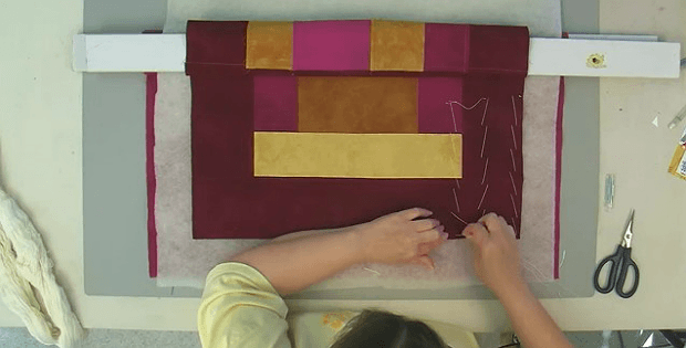 How To Hand Baste a Quilt