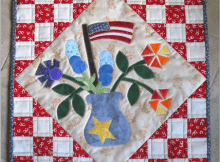Flags and Flowers Quilt