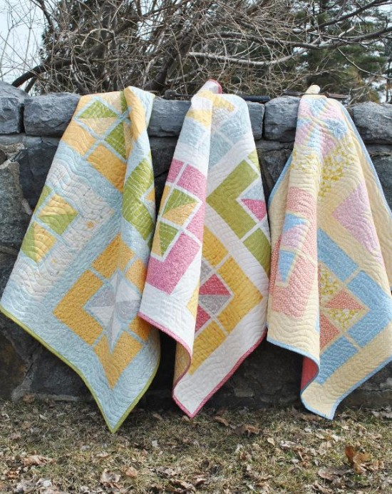 Walking on Sunshine Baby Quilts