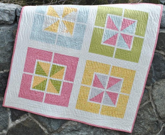 Walking on Sunshine Baby Quilt