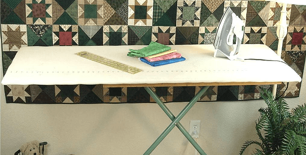 Convert Your Ironing Board for Quilting - Quilting Digest : ironing table for quilting - Adamdwight.com
