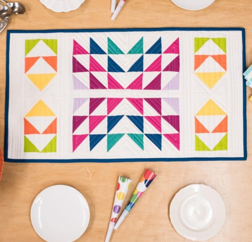 Pure Color Table Runner Pattern