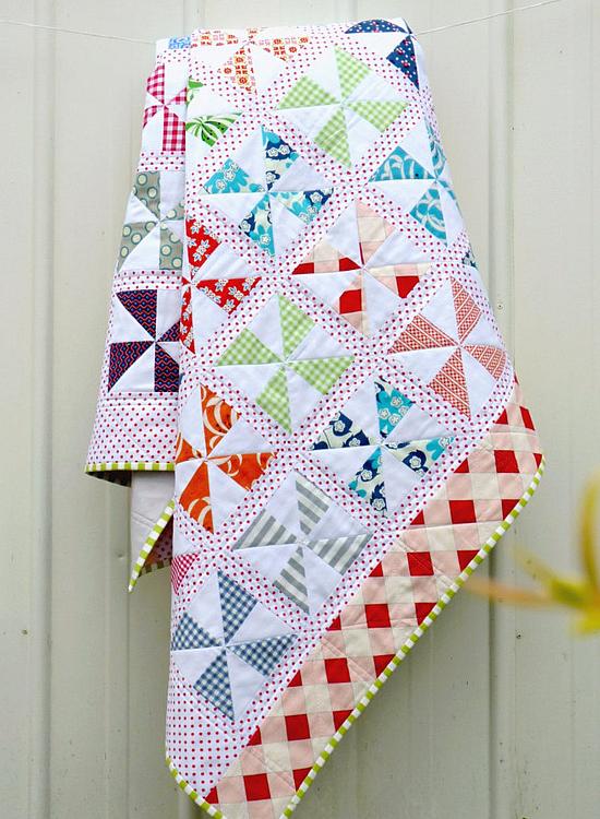 Pinwheels on Parade Quilt Pattern