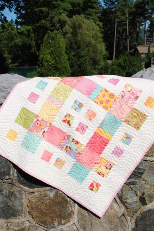 City Blocks Baby Quilt