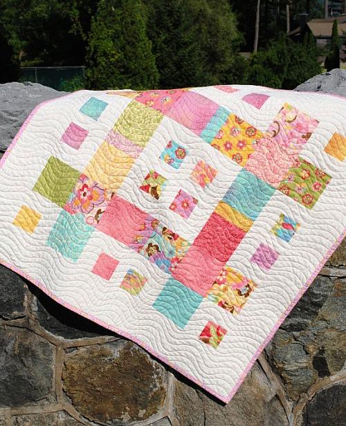 City Blocks Lap Quilt Pattern