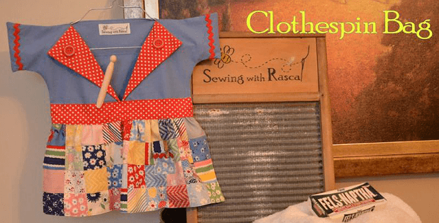 You'll Find So Many Uses For This Clothespin Bag Quilting Digest Amazing Clothespin Bag Pattern