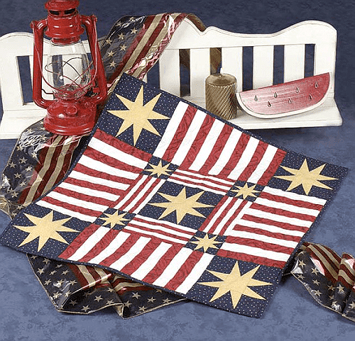 Stars and Stripes Table Topper