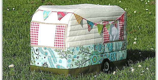 A Fun Sewing Machine Cover for Your Sewing Room - Quilting Digest