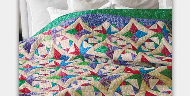 Wedding Diamonds Quilt Pattern