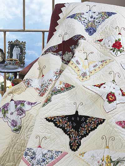 Mother's Handkerchiefs Quilt Pattern
