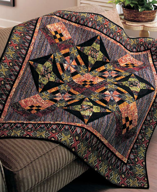 Through the Looking Glass Quilt