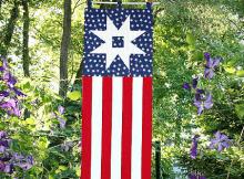 Patriotic Garden Path Banner