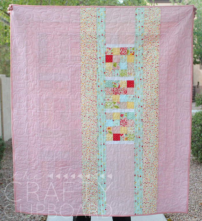 Quilting Digest Free Patterns : Easily Adjust the Size of This Super Quick Quilt - Quilting Digest