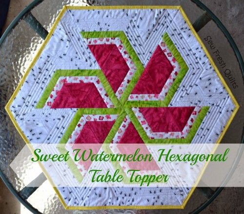 Sweet Watermelons For Your Table Quilting Digest