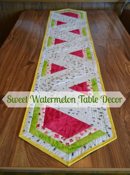 Watermelon Table Runner