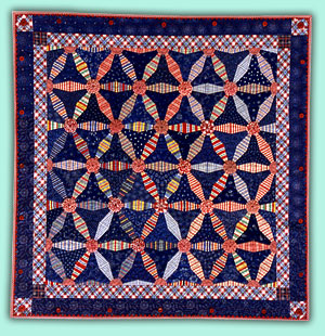 Wheels of Mary Bozak Quilt