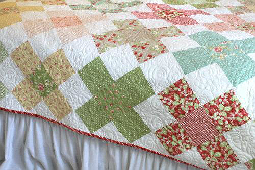 Large Granny Square Quilt