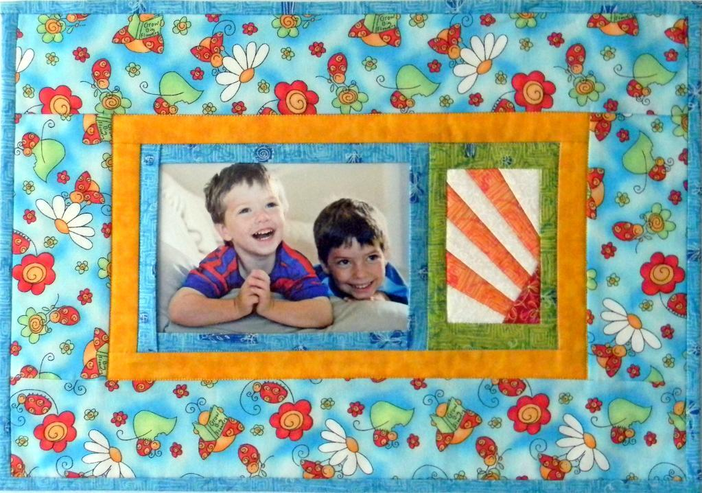 Make A Charming Quilted Photo Frame - Quilting Digest