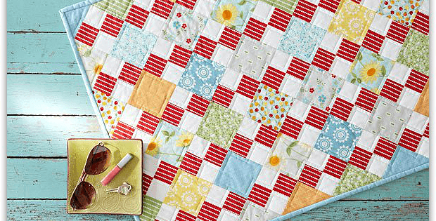 Brighten Your Table With This Super Easy Quilt Quilting