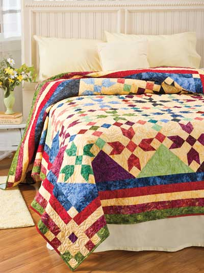 Basket of 1895s Quilt Pattern