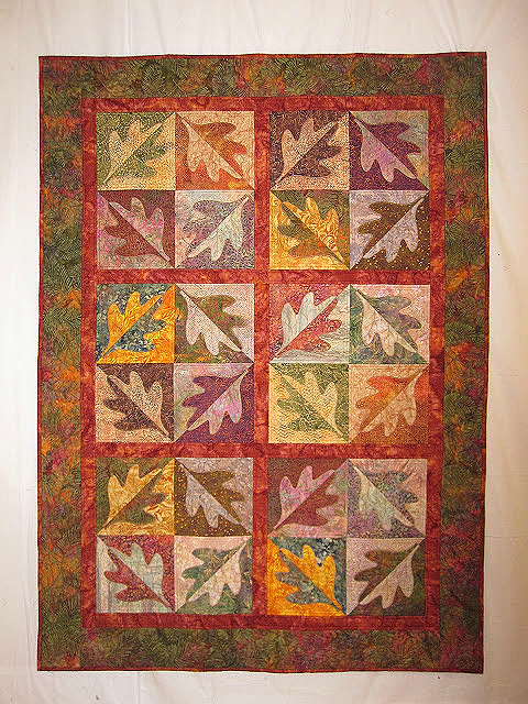 Turning Leaves Quilt Pattern