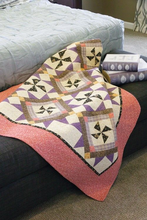 Autumn Orchids Quilt Pattern