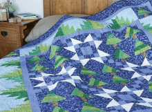Black Forest Christmas Quilt Pattern