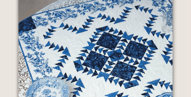 Delft Blue Wall Quilt