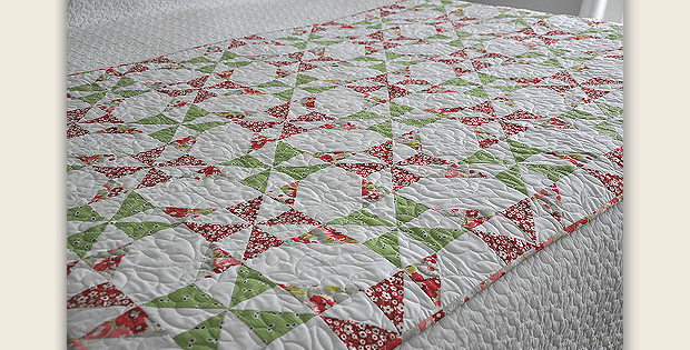 This Double Pinwheel Quilt Sparkles With Charm - Quilting Digest : double pinwheel quilt - Adamdwight.com