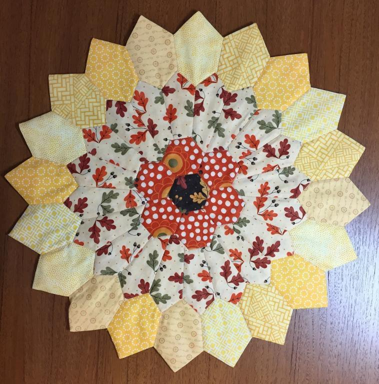Sunburst Table Topper Brings The Sun Inside Quilting Digest