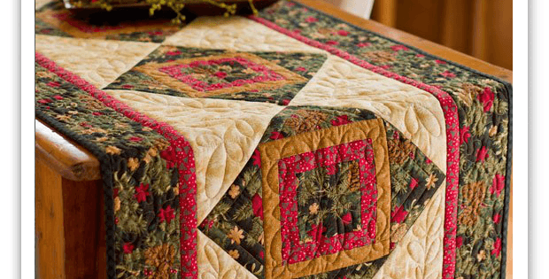 Hint of the Holidays Table Runner