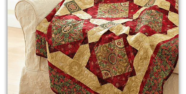 Holiday Sparkle Quilt